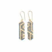 Gui  Maze Earrings