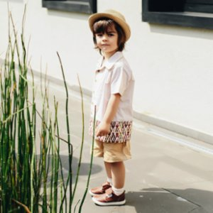miniscule by ebrar  Sunlight Shirt and Shorts Set