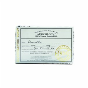 Africology  Vanilla Hand – Crafted Soap