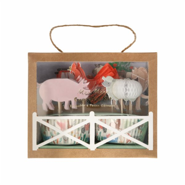Meri Meri On the Farm Cupcake Kit