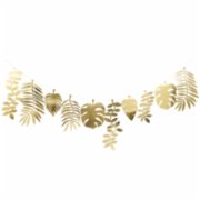 Meri Meri  Gold Foliage Large Garland