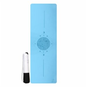 Seeka Yoga  Turquoise Yoga And Pilates Mat + Carrying Case