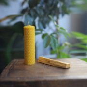 Aurora Craft  Palo Santo Stick and Beeswax Candle