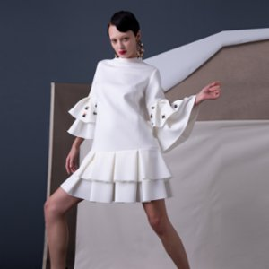Vision of Sulz  Abstract Scuba Dress