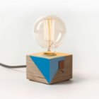 Womodesign Wooden Colored Table Lamp