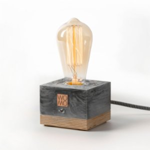 Womodesign  Marble Textured Concrete Table Lamp