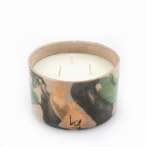 Küf Mum  Ceramic Bath Scented Candle No:I