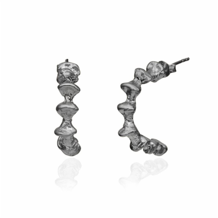 602Lab Fosil Hoops Earring