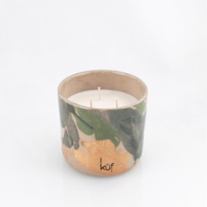 Küf Mum  Ceramic Green Tea Scented Candle No:II