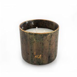 Küf Mum  Ceramic Orange Scented Candle No:III