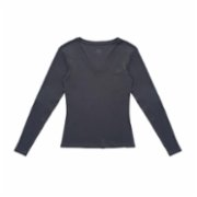 Fifty Pieces  Basic V Neck Long Sleeve Blouse