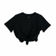 Fifty Pieces  Tied Crop T-Shirt