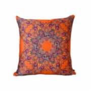 Design Madrigal	  Naranja Pillow