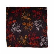 Dersofficial  Crowd Silk Scarf