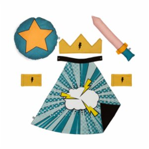 Pikabu  Lightning Cloud- Child Cape Set