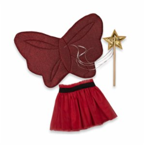 Pikabu  Glittery- Butterfly Fairy Wings Set