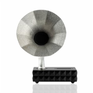 Acoustibox  Metallic Collection Solid Silver