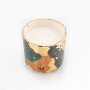 Küf Mum  Gold Ceramic Scented Candle