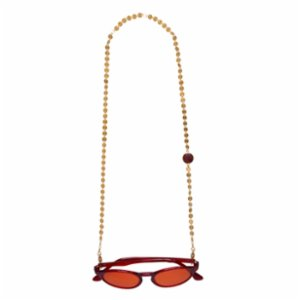 Elia Sunglasses	  Gina Glasses Chain