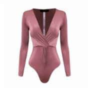 Rivus  Front Twisted Bodysuit