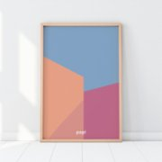 Pop by Gaea  Fold Away Walls Print