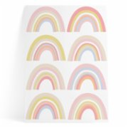 Pop by Gaea  Happy Rainbows Pink Sticker
