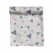 Bone Dea  Geometrıcal Shaped Muslin Swaddle Blanket