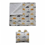 Bone Dea  Clouds Blanket Set