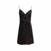 Rivus  Spagetti Strap Sequined Long Dress