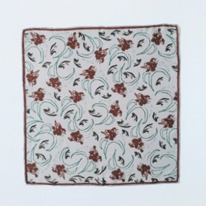 Palpita  Flowered Silk Scarf