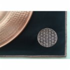 Bohemtolia Table Mat with Flower of Life Embroidery