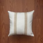 Bohemtolia Beige Pillow Cover with Detail No.1