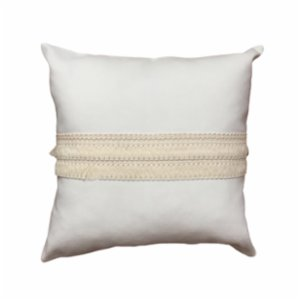 Bohemtolia  Beige Pillow Cover with Detail No.2