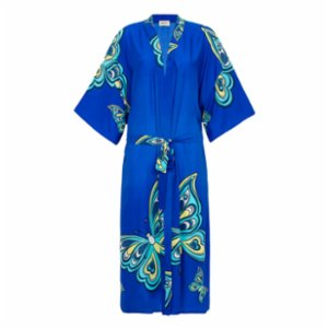 Jade and Mate  Butterfly - Long Kimono