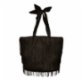 Mien İstanbul Knitted Fringed Bucket Bag