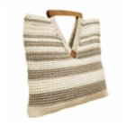 Mien İstanbul Triangular Handled Knited Hand Bag