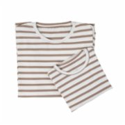 Phoca  Organic Striped Long Sleeve Soft Mother T-Shirt