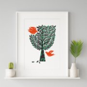 Fabl  Tree of Life Print - I