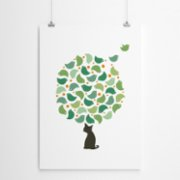 Fabl  The Cat's Dream Print - I