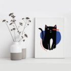 Fabl What the Cat Sees Print