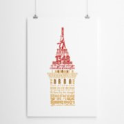 Fabl  The History of The Galata Tower Print