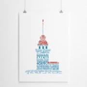 Fabl  The History of the Maiden's Tower Print
