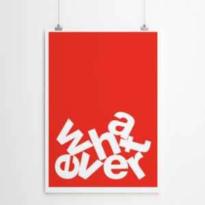Fabl  Whatever Print - I