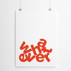 Fabl  Whatever Print - II