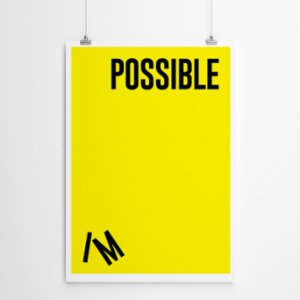 Fabl  I'm Possible Print