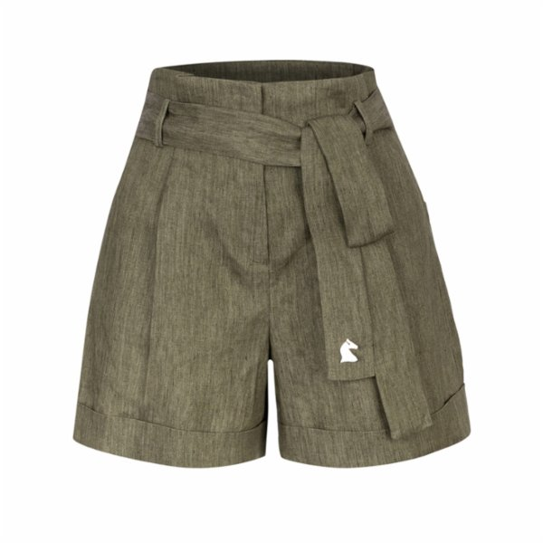 Dor Raw Luxury Afternoon At The Palace Linen Shorts