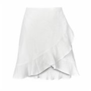 Dor Raw Luxury  Salty Memories Linen Skirt
