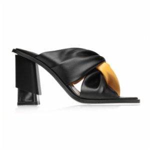 Gardrop Studio 900  Bicolor Knotted Heel Sandals