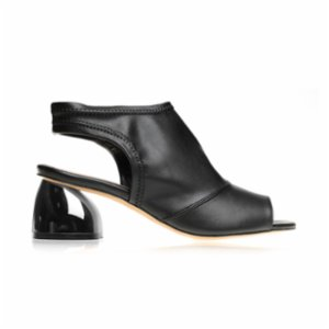 Gardrop Studio 900  Spherical Metallised Heel Open Shoes