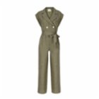 Dor Raw Luxury This Must Be The Place Linen Jumpsuit